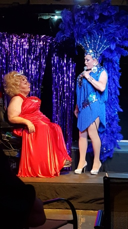 No tribute to Dirt (left) is complete without a drag show.