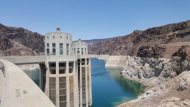 In older photos, Lake Mead reached the bottom of the walkways