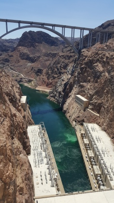 It carries a lot of sediment that gets trapped in the dams between the Grand Canyon and here